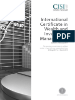 International Certificate in Wealth