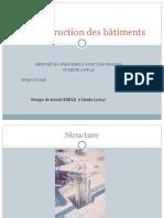 Construction du Batiment ; Structure