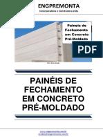 Paineis de Fechamento Em Concreto Pre-Moldado