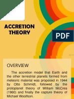 Accretion Theory