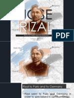 Jose Rizal To Paris and Berlin