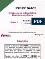 Análisis de Datos-Sesión01