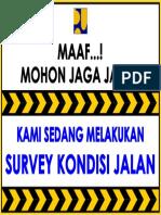 survey kondisi jalan