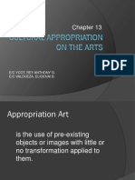 Cultural Appropriation on the Arts