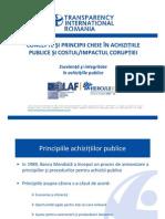 1. Conceptele Si Principiile Cheie Din Cadrul Achizitiilor Publice