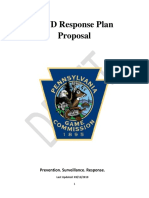 Pennsylvania Game Commission Draft CWD Response PlanSept122019