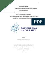 Bab 1 Internship Report