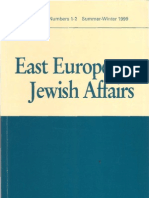 Soviet Antisemitism after Stalin (Review Article)