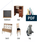 Classroom Things 6 Pcs