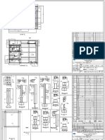 Structural drawing for skid