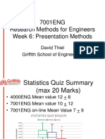 7001ENG Week 6 Presentations