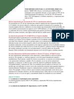 Impacto de La Mineria en La Economia Del Peru