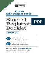 PDF Sat Registration Booklet Students