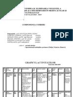 Calendar Comisia Pt Prev Violentei
