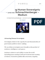 Advancing Human Sovereignty – Daniel Schmachtenberger –