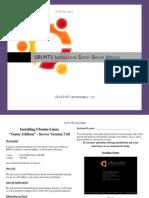 GLUG NIT Jamshedpur-Ubuntu