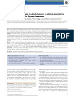 Introducing Early-phase Medical Students to Clinical Paediatrics Using Simulation and Flipped Classroom