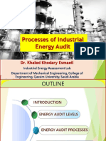 Dr Khalid Process and Procedures of Industrial Energy Audit