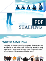 Staffing Ppt