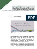 Desastres Naturais para Atenção Básica