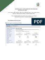 Rosero-Marín,Et Al. Bases de Datos y Alineamientos Múltiples de Secuencias