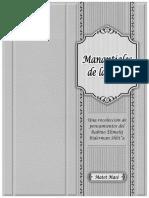 Manantiales de La Tora - Matot Masé 5779 A4