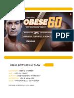 Obese 60 Workout Plan by Guru Mann