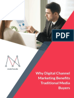 Why Digital Channel Marketing Benefits Traditional Media Buyers