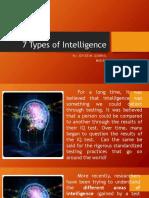 7 Types of Intelligence