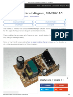 Mobile Charger Circuit Diagram, 100-220V AC – Circuits DIY