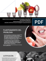 Impacto en La Salud Oral de Los Veganos