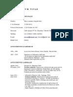 Curriculum Marco Araneda