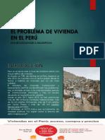 Problema de Viviendo en Peru