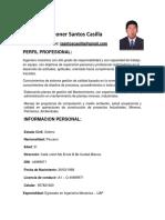 John Leoner Santos Casilla 2019 Word