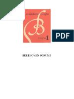 (Beethoven Forum 1) Christopher Reynolds, Lewis Lockwood, James Webster - Beethoven Forum-University of Nebraska Press (1992)