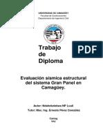 UNIVERSIDAD de CAMAGÜEY Facultad de Construcciones Departamento de Ingeniería Civil