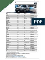 Bmw Model Pricelist