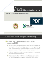 CRA Commercial Retrofit Financing Program 5.10