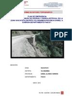 INFORME topografico huacatuco