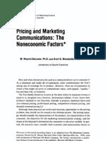 Pricing HBR