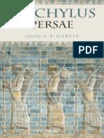 Aeschylus, A. F. Garvie - Aeschylus_ Persae (2009, Oxford University Press).pdf