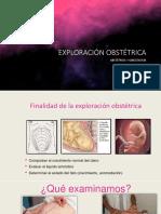 1.Exploracion Obstetrica