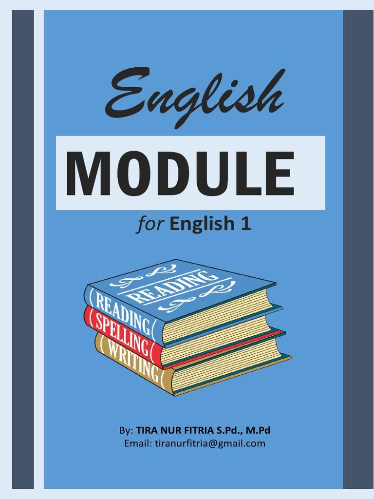English MODULE For English 1 General Eng Pdf