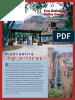 Estudio de Caso Del Parque Nacional Zion