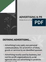 Advertising & PR COPY