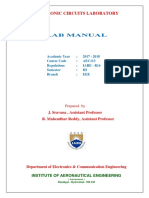 Electronic Circuit laboratory MANUAL .pdf