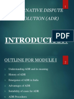 Adr Ppt Module 1