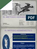 El Metodo Hermeneùtico Nuevo Wp
