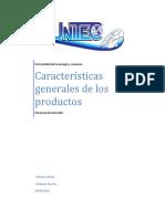 Generalidades de Los Productos