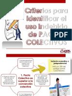Criterios Uso Indebido de Pactos Colectivos 1